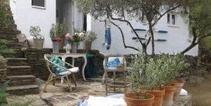 Bungalow con vistas al jardín