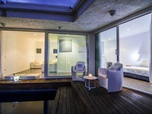 hotel-rec-de-palau-vistas nocturnas de la suite